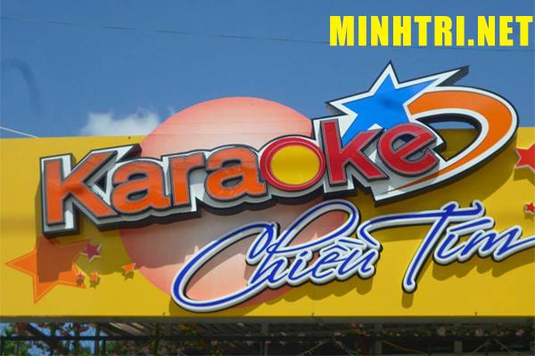 Công ty làm bảng hiệu quán Karoke quận 10 tphcm