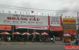 Làm bảng hiệu cho cửa hàng xe máy tphcm
