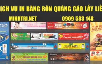 Dịch vụ in băng rôn quảng cáo lấy liền ở TPHCM