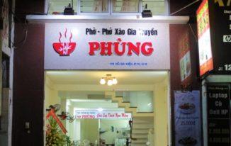 Dịch vụ làm bảng hiệu quán phở, tiệm ăn ở TPHCM | Minh Trí