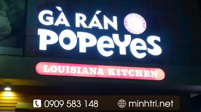 Dịch vụ làm hộp đèn LED quảng cáo TPHCM - Minh Trí