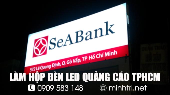 Dịch vụ làm hộp đèn LED quảng cáo TPHCM