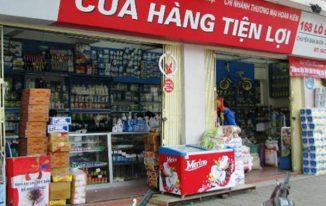 Mẫu bảng hiệu cửa hàng tạp hóa phổ biến